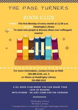 Seniors Book Club! @ Headingley Library