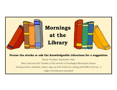 HSSI Mornings at the Library @ Headingley Library